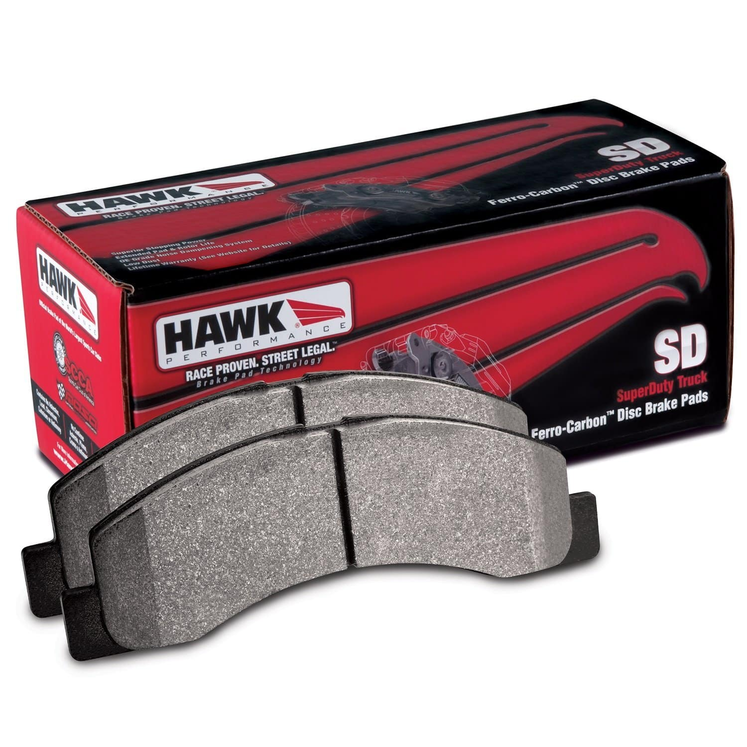 Hawk Performance HB552P.722 SuperDuty Brake Pad