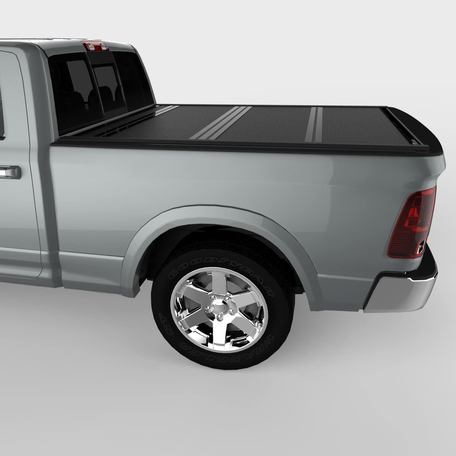 UnderCover Flex Hard Folding Tonneau Truck Bed Cover for Ram 1500