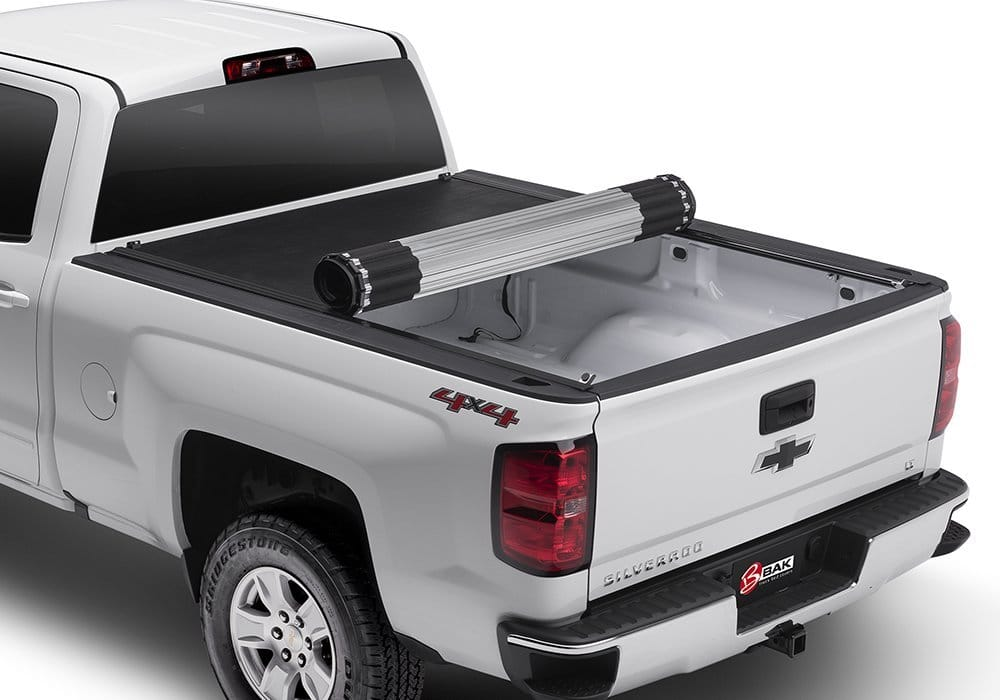 BAK Industries Revolver X2 Hard Roll-up Truck Bed Cover - Best Tonneau Cover for Silverado / Sierra