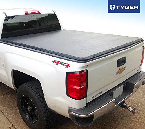 TYGER® TriFold Tonneau Truck Bed Cover for Silverado Sierra