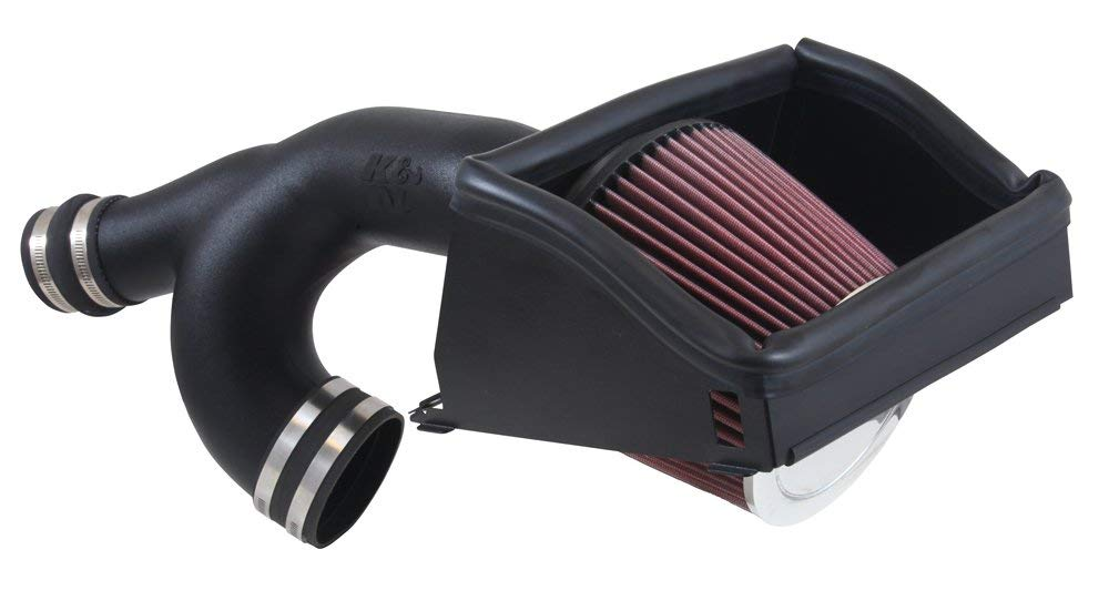 K&N Performance Cold Air Intake Kit for Ford F150 Ecoboost