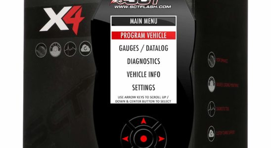 SCT Performance - 7015 - X4 Performance Tuner - Best Tuner for 6.7 Powerstroke