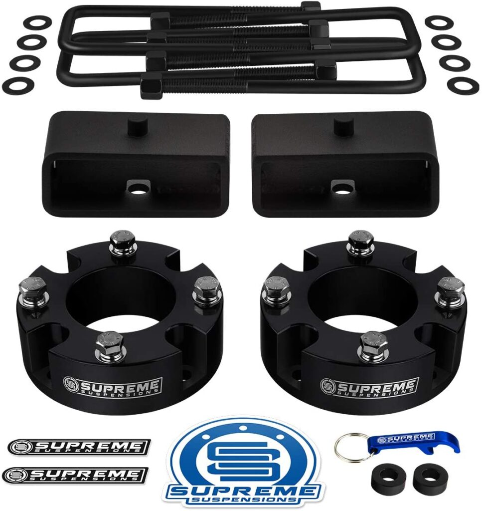 supreme suspensions 3 inch leveling kit for toyota tundra