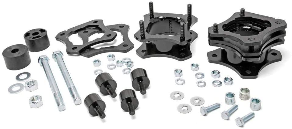 rough country 2-3 inch leveling kit for toyota tundra